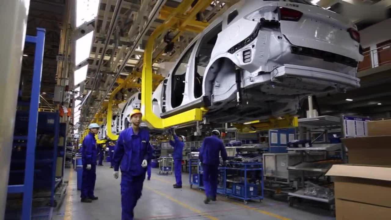 荣威RX5生产车间曝光