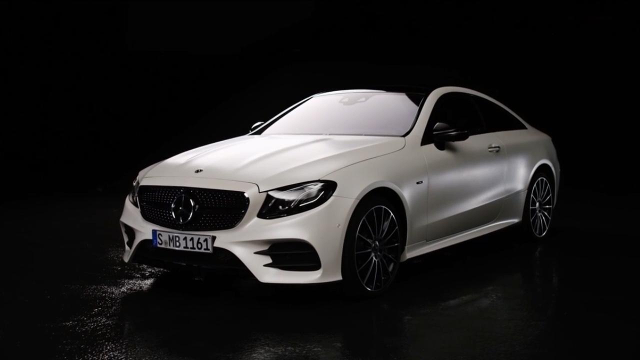 全新奔驰e级coupe透光性强