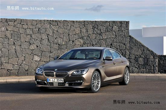宝马发布6系Gran Coupe官图 2012年亮相