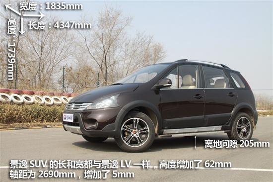 景逸SUV将于近期上市 预计售价9-11万元
