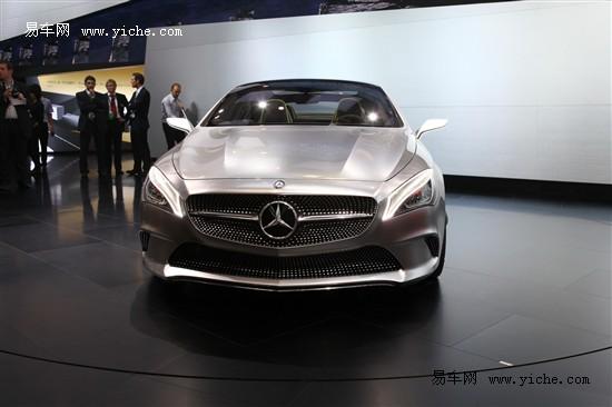 奔驰Style Coupé概念车北京车展全球首发