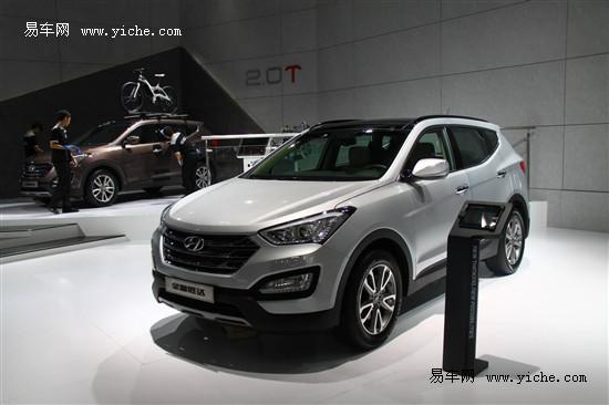 进口现代新胜达22.86万起售 店内现车出售