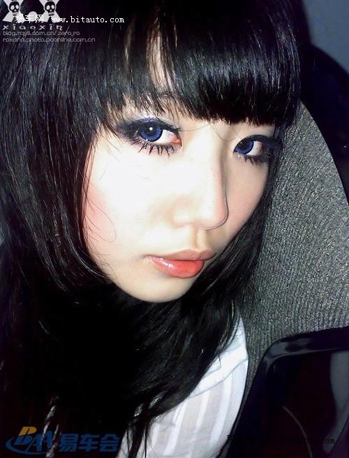 【大眼美女激情自拍图片】 易车网b