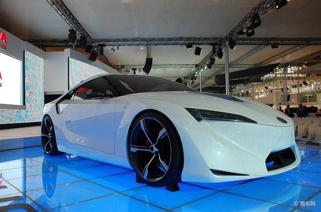 丰田Supra概念车明年初发布 或搭混合动力