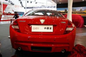 中国龙正车尾图片