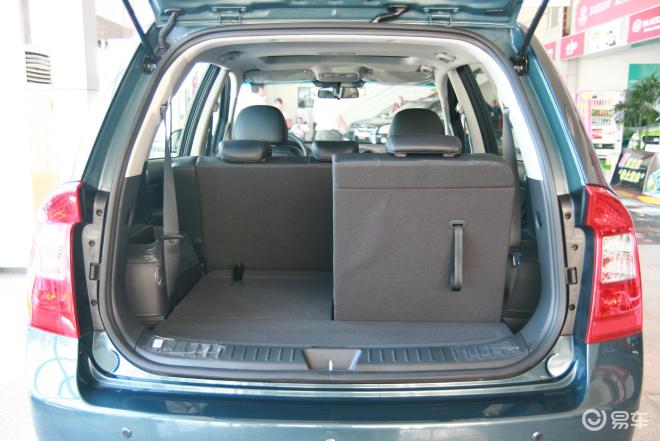 行李箱空间(后排左放倒)