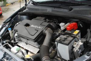 天语SX4三厢发动机图片