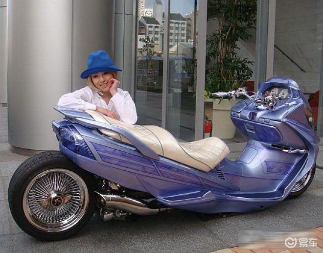 【10款炫酷的日本手工制作摩托车图片】-易车网bita