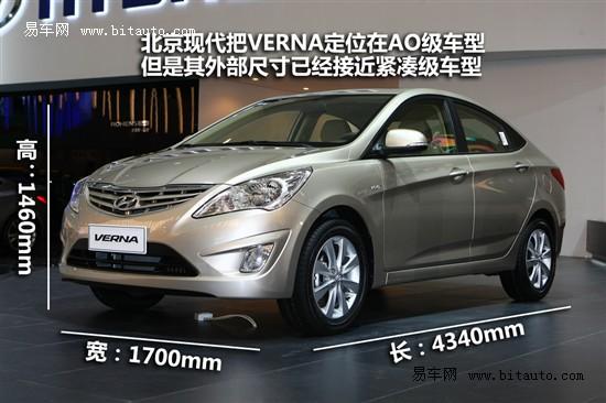 全球首发新车北京现代VERNA亮相国际车展