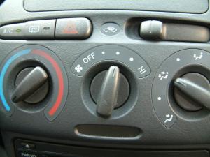 威姿中控台空调控制键图片