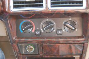 陆程中控台空调控制键图片