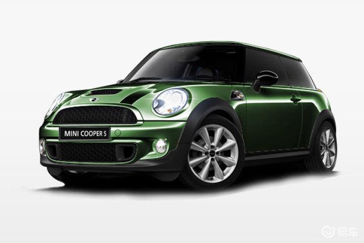 2011款 mini mini cooper s 墨绿色 汽车图片高清图片