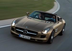 劳伦士改装S级2012 款奔驰敞篷版SLS图片