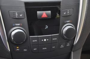 进口凯泽西 中控台空调控制键