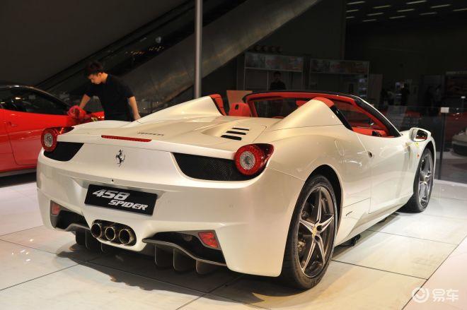法拉利458spider 2012年即将上市个性 高性能新车展望高清图片