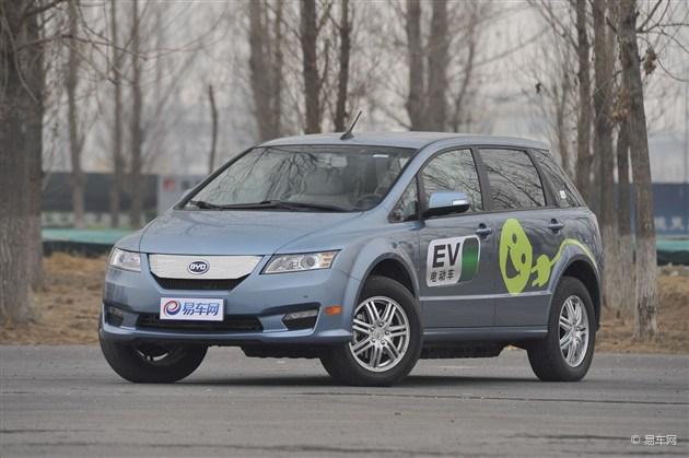 广东亚欧特汽车 置换比亚迪e6正在优惠高清图片