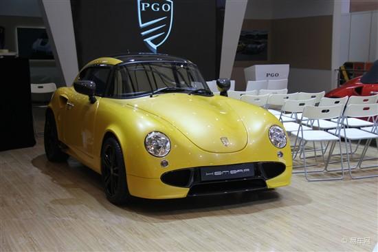 2013上海车展 PGO两款新车于车展亮相