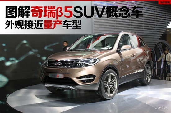 2013上海车展 奇瑞β5概念SUV独家解析