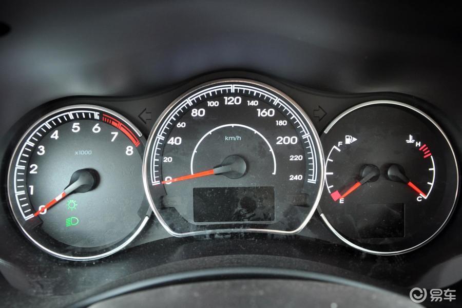 【科雷傲2013款2.5L四驱舒适版仪表汽车图片华泰特拉卡4区图片
