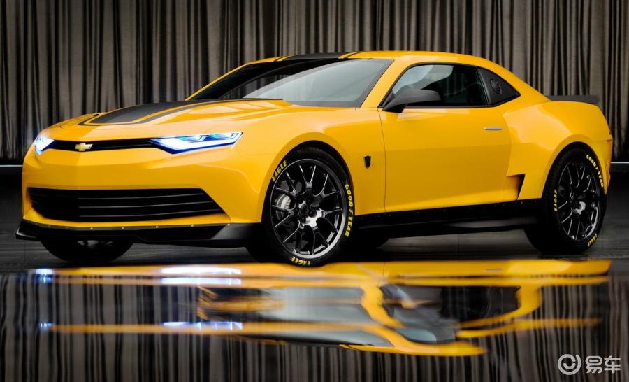 经过重新设计的2014款雪佛兰科迈罗 camaro 的全新概 高清图片