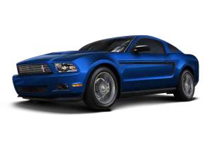 福特Mustang            宝石蓝