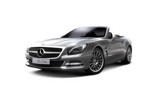 进口奔驰SL级AMG 钯银色金属漆