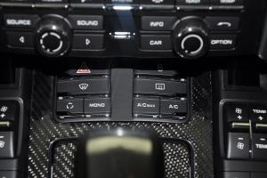 泰卡特T7 中控台空调控制键
