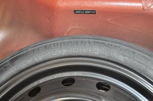 V6菱仕 备胎规格