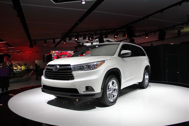 广汽丰田新一代汉兰达2015年上半年亮相