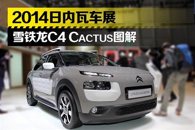 2014日内瓦车展 雪铁龙C4 Cactus图解