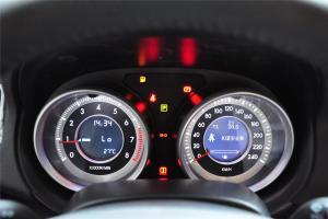 奔腾B90仪表盘背光显示图片