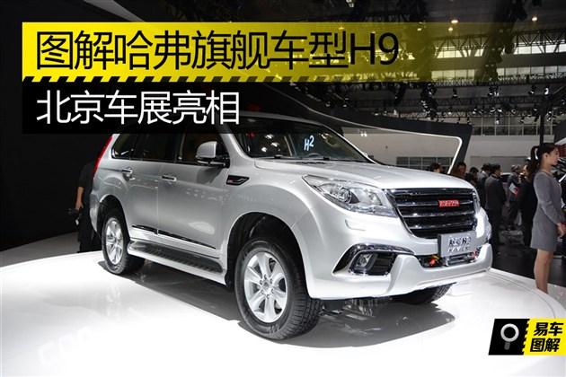 图解哈弗旗舰车型H9 北京车展亮相