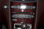 进口英菲尼迪QX50 中控台空调控制键