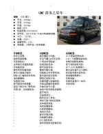 GMC商务之星商务车图片