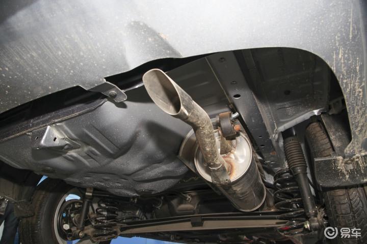 一汽威志V5排气管 排气管装饰罩 528271高清图片