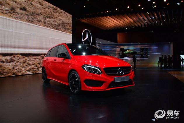 新款奔驰B级或将于2015年第一季度引进