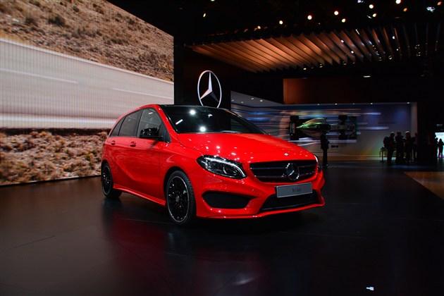 奔驰新款B级有望2015年2月1日国内上市