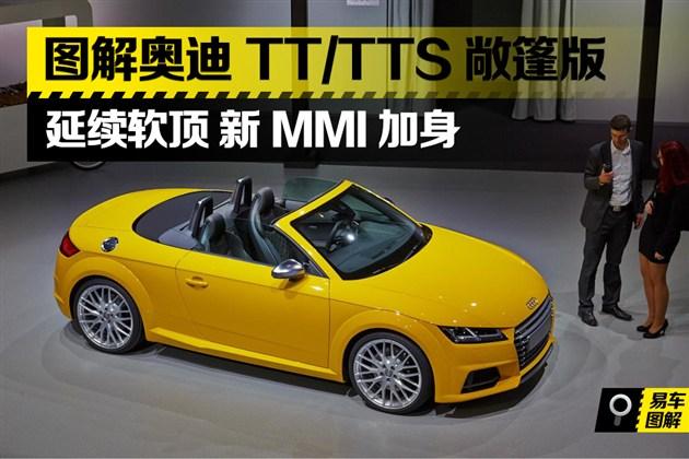 图解全新TT/TTS敞篷 延续软顶新MMI加身