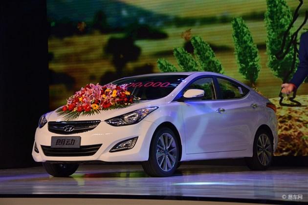 北京现代新款朗动下线 外观小改/配置升级