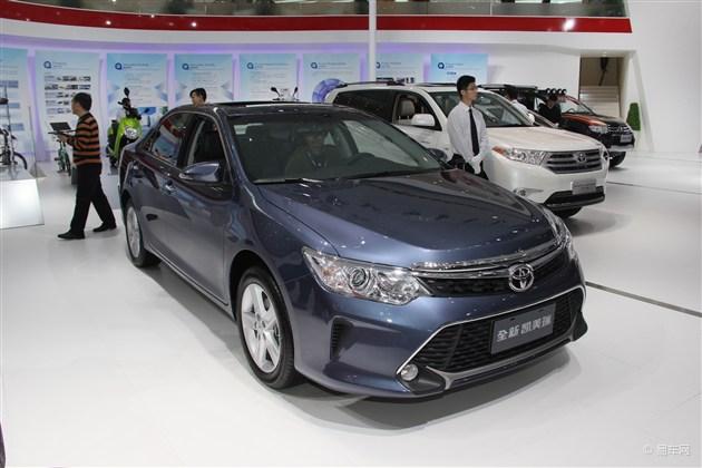 新款凯美瑞于广州车展正式亮相 外观犀利