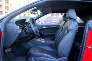 奥迪S5前排空间图片