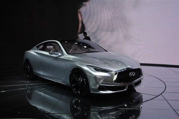 英菲尼迪q60概念车高清图片