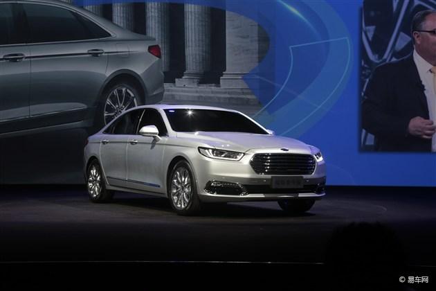 国产福特金牛座全球首发 定位旗舰车型