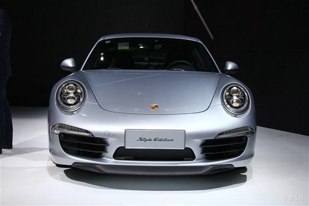 2015上海车展 保时捷911特别版亮相