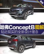 哈弗concept BConcept B图解图片