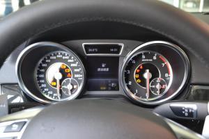 进口奔驰GL级AMG 仪表盘背光显示