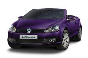 进口大众高尔夫敞篷轿车 深紫色