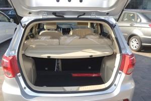 北汽绅宝D20 两厢版 行李箱空间