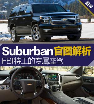 Suburban雪佛兰Suburban官图解析图片