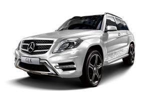 奔驰GLK级 铱银色金属漆